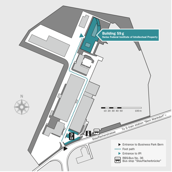 Location - Swiss Federal Institute of Intellectual Property