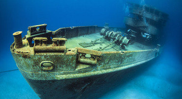 An invention that was created to recover the cargo of a sunken ship. Photo: istock