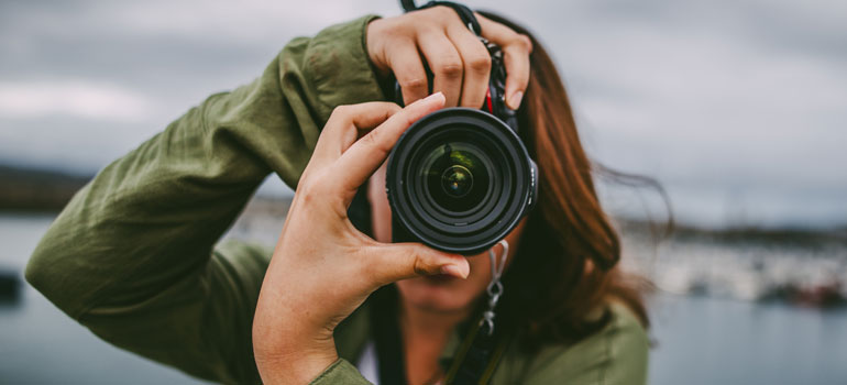 Using photos for your SME – use your own images wherever possible. Photo: iStock